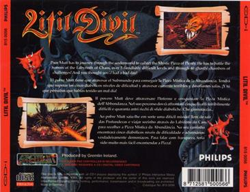 Litil Divil - Box - Back