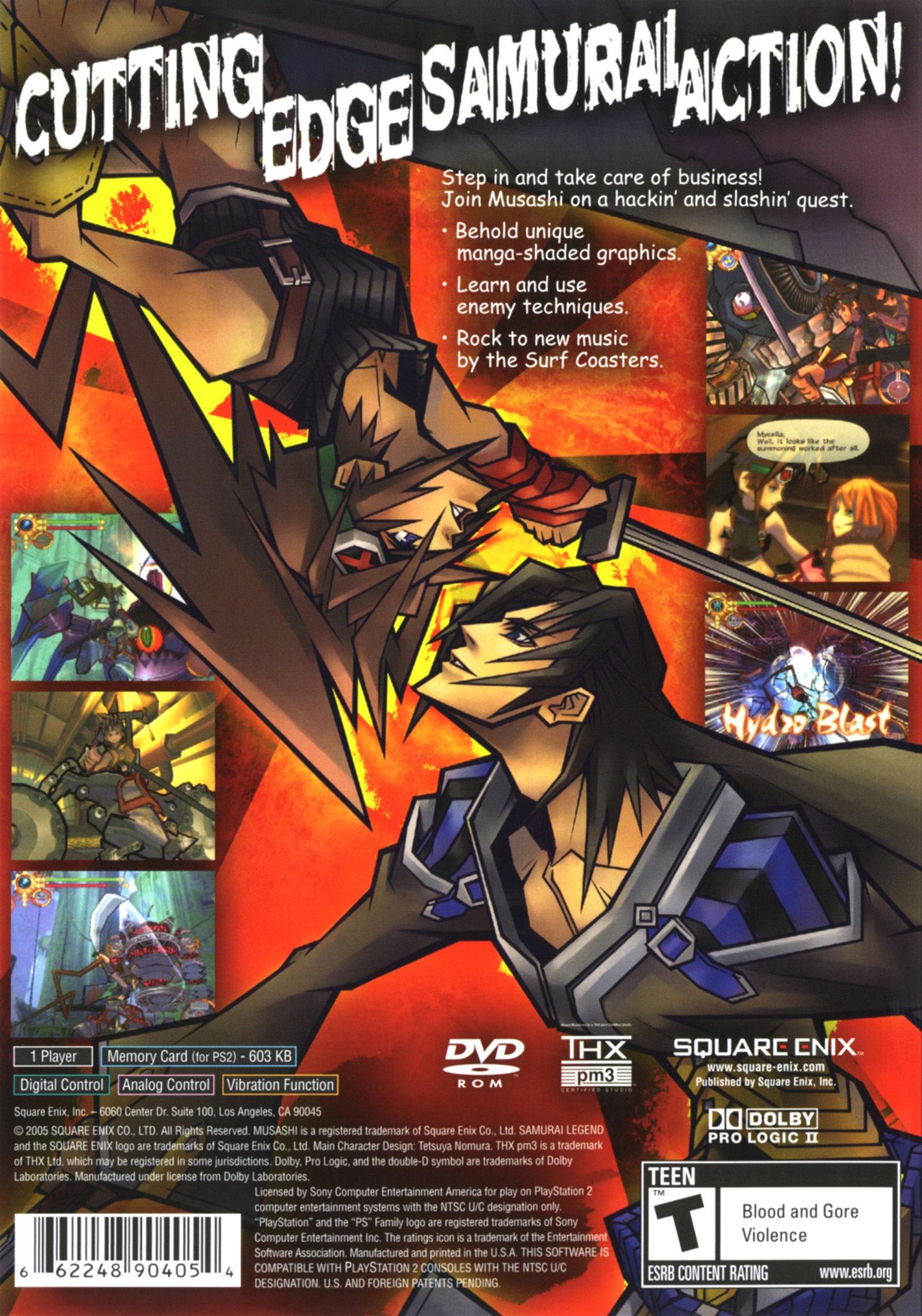 Musashi: Samurai Legend Details - LaunchBox Games Database