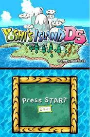 Yoshi's Island DS - Screenshot - Game Title