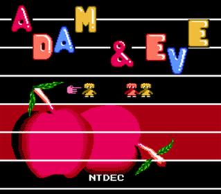 Adan y Eva - Screenshot - Game Title