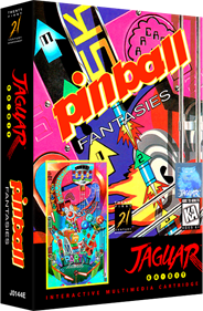 Pinball Fantasies - Box - 3D