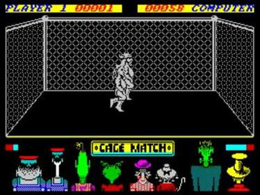 Intergalactic Cage Match - Screenshot - Gameplay