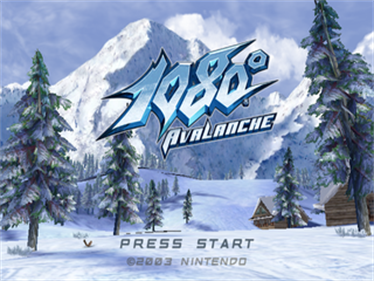 1080° Avalanche - Screenshot - Game Title