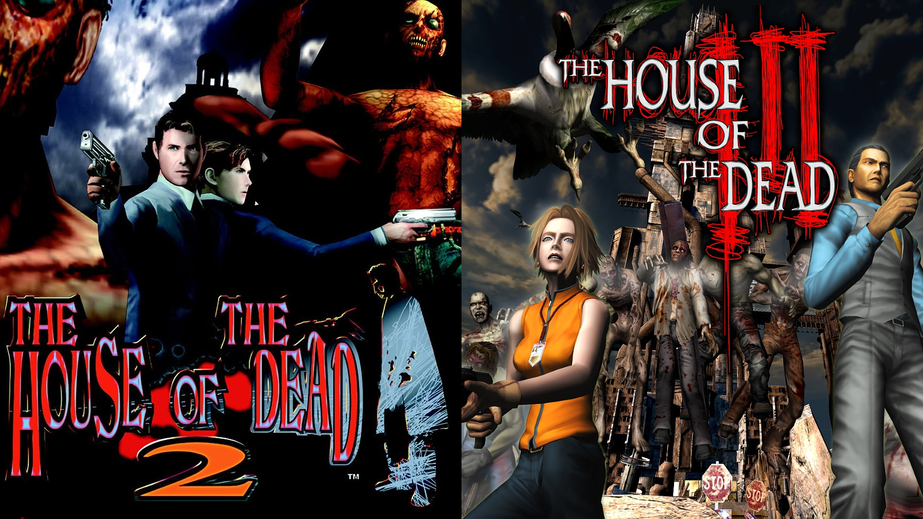 The House Of The Dead 2 3 Return Details Launchbox Games Database