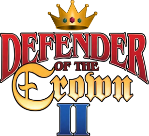 Defender of the Crown II - Clear Logo