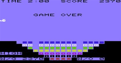 Bomber - Screenshot - Game Over