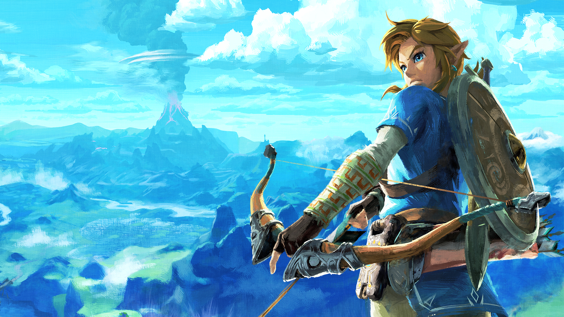 Image result for Breath of the wild fanart 1920x1080