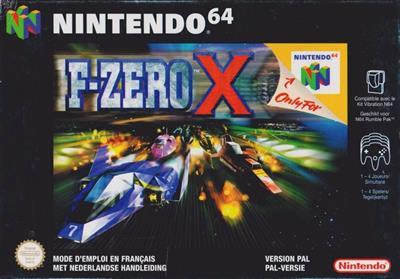 F-Zero X - Box - Front