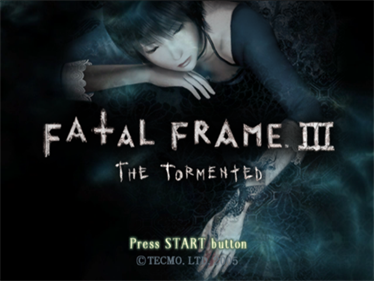 Fatal Frame III: The Tormented - Screenshot - Game Title