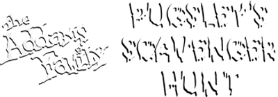 The Addams Family: Pugsley's Scavenger Hunt - Clear Logo