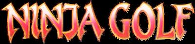 Ninja Golf - Clear Logo