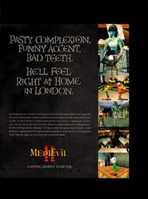 MediEvil II - Advertisement Flyer - Front