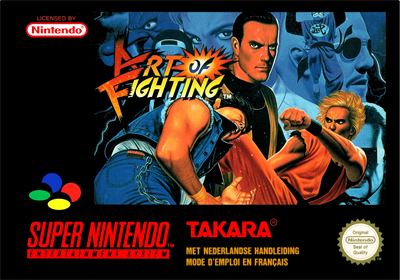 Art of Fighting - Box - Front