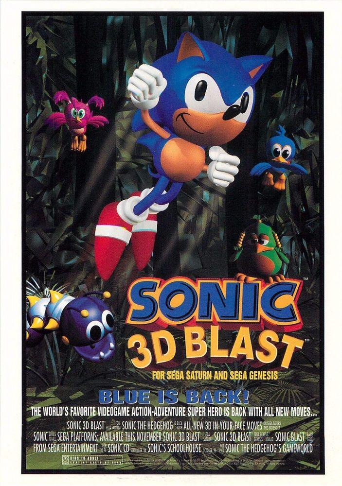 Sonic 3D Blast Details - LaunchBox Games Database