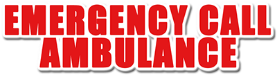 Emergency Call Ambulance - Clear Logo