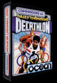 Daley Thompson's Decathlon - Box - 3D