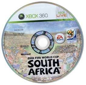 2010 FIFA World Cup South Africa - Disc