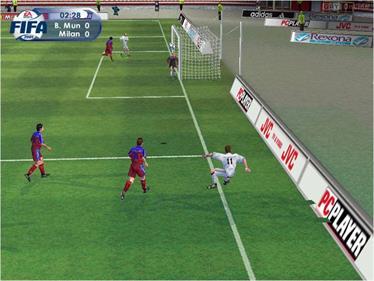 FIFA 2001 - Screenshot - Gameplay