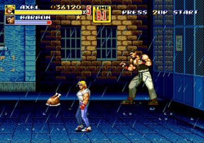 Streets of Rage 2 - Screenshot - Gameplay