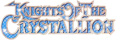 Knights of the Crystallion - Clear Logo