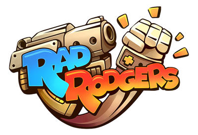 Rad Rodgers: World One - Clear Logo