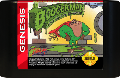 Boogerman: A Pick and Flick Adventure - Cart - Front