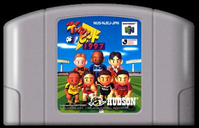 J.League Eleven Beat 1997 - Fanart - Cart - Front