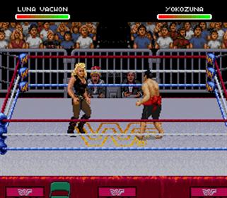 WWF Raw - Screenshot - Gameplay
