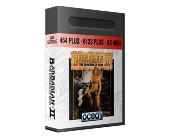 Barbarian II: The Dungeon of Drax - Box - 3D