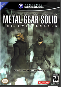 Metal Gear Solid: The Twin Snakes - Box - Front