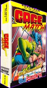 Intergalactic Cage Match - Box - 3D
