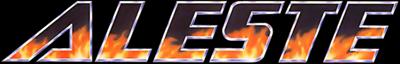 Aleste - Clear Logo