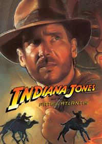 Indiana Jones and the Fate of Atlantis - Fanart - Box - Front