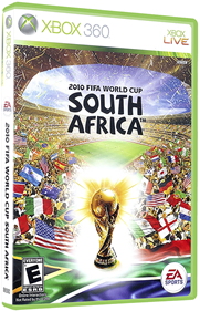 2010 FIFA World Cup South Africa - Box - 3D