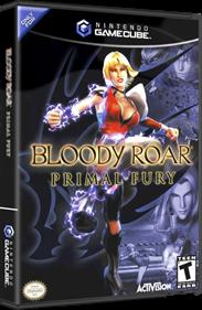 Bloody Roar: Primal Fury - Box - 3D