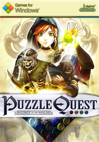 Puzzle Quest: Challenge of the Warlords - Fanart - Box - Front