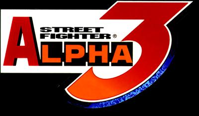 Street Fighter Alpha 3 - Clear Logo