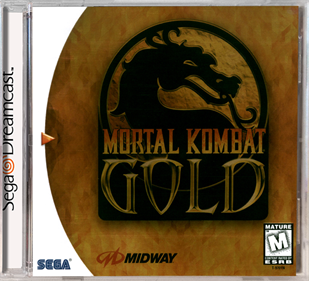 Mortal Kombat Gold - Box - Front