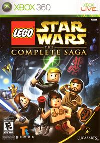 LEGO Star Wars: The Complete Saga - Box - Front