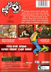 Freestyle Street Soccer - Box - Back