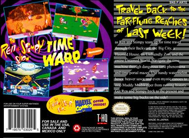 The Ren & Stimpy Show: Time Warp - Box - Back