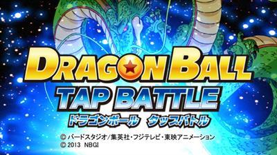 Dragon Ball: Tap Battle - Screenshot - Game Title