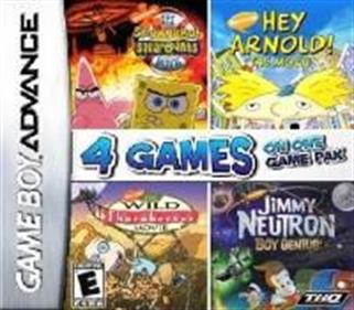 4 Games on One Game Pak: Movies