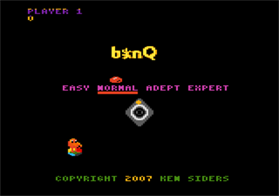 b*nQ - Screenshot - Game Title