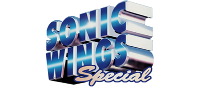 Sonic Wings Special - Clear Logo