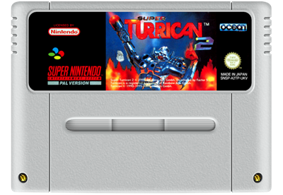 Super Turrican 2 - Fanart - Cart - Front