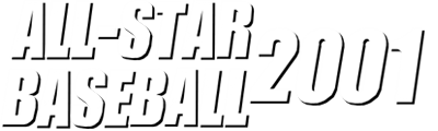 All-Star Baseball 2001 - Clear Logo