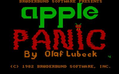 Apple Panic - Screenshot - Game Title