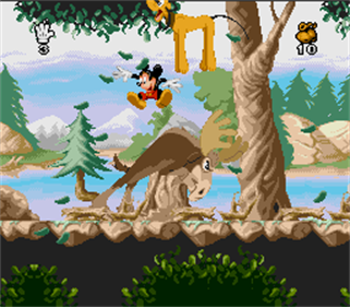 Mickey Mania: The Timeless Adventures of Mickey Mouse - Screenshot - Gameplay