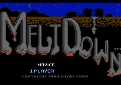 Meltdown - Screenshot - Game Title